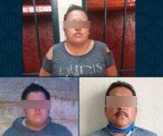 Mujer y 2 hombres drogaban con pastillas a ancianos para robar sus casas en municipios de Querétaro, son detenidos
