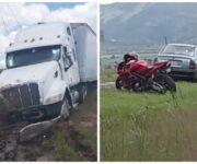 Motociclista muerto en la San Gil-Amealco, era de San Clemente, Pedro Escobedo