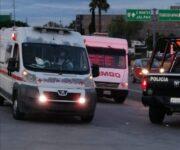 Atacan a balazos a 2 sobre camión repartidor, un herido es atendido en Tequisquiapan