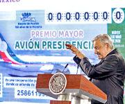 Avión Presidencial ni se vendió, ni se rifó, ni salió el 30 por ciento de los cachitos