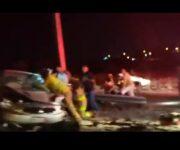 Muere conductor en grave accidente por puente de Vista Hermosa, en SJR