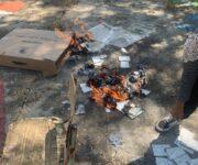 Denuncian quema de boletas electorales en El Saucillo, Huichapan, Hidalgo