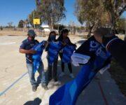 Continúa entregando alcaldesa Lety Servín uniformes deportivos a equipos de futbol en comunidades huimilpenses